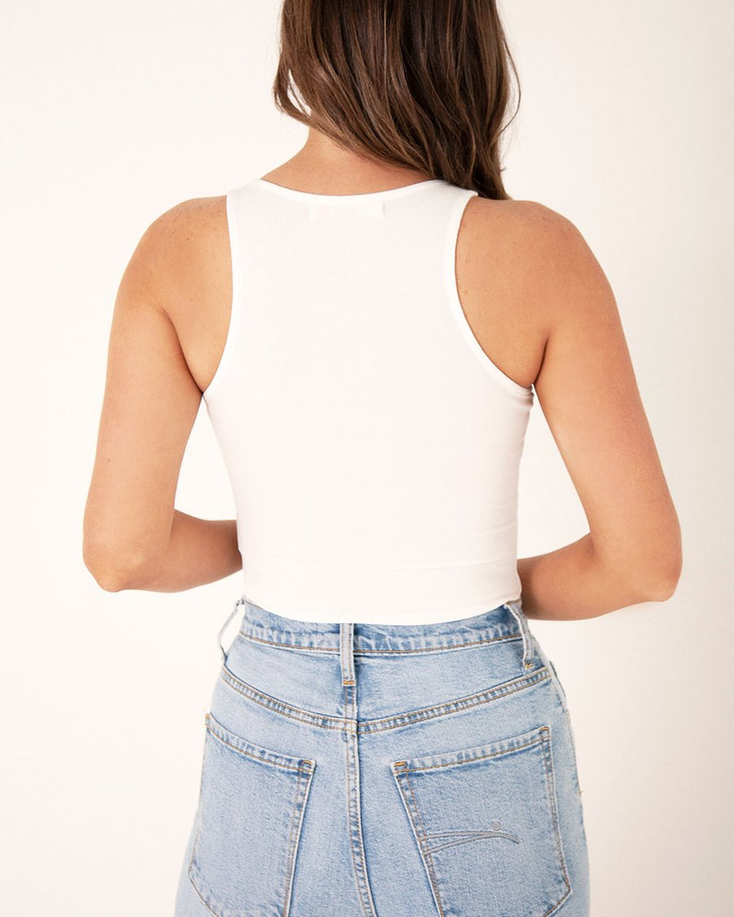 Tank bodysuit - White