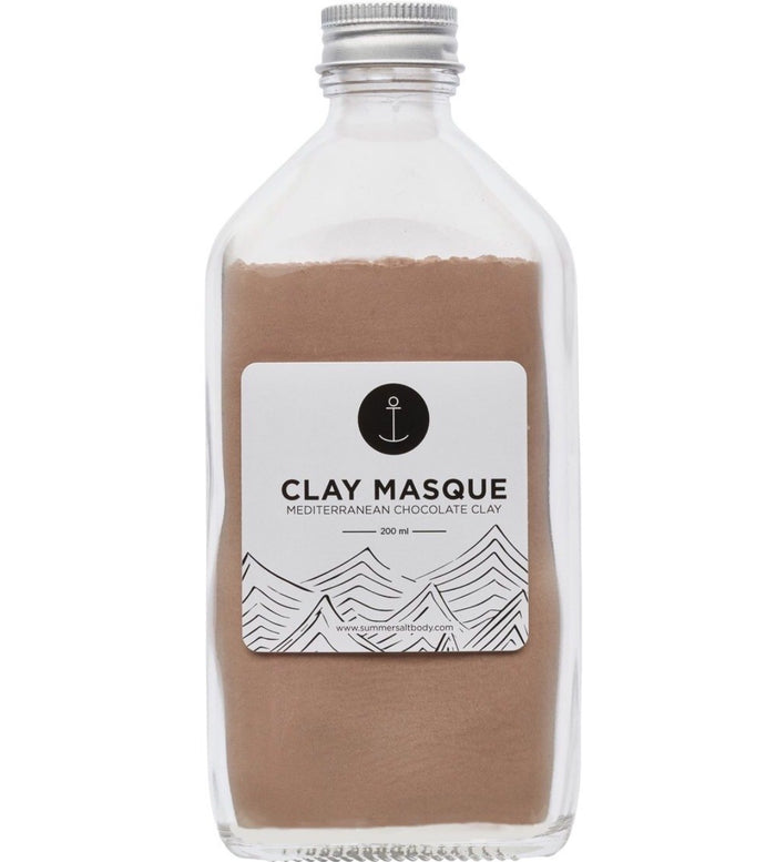 Chocolate clay Masque, summersalt
