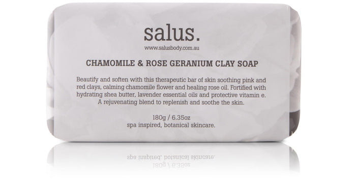 Chamomile and Rose Geranium Clay Soap, Soap, Salus - Mika and Max