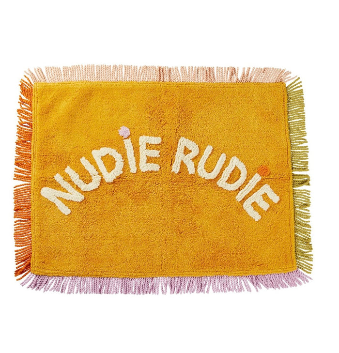 TULA NUDIE BATH MAT - XMAS EDITION, sage and Clare, Mika and Max