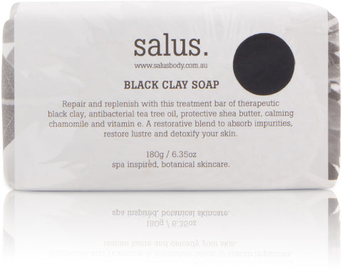 BLACK CLAY SOAP, Soap, Salus - Mika and Max