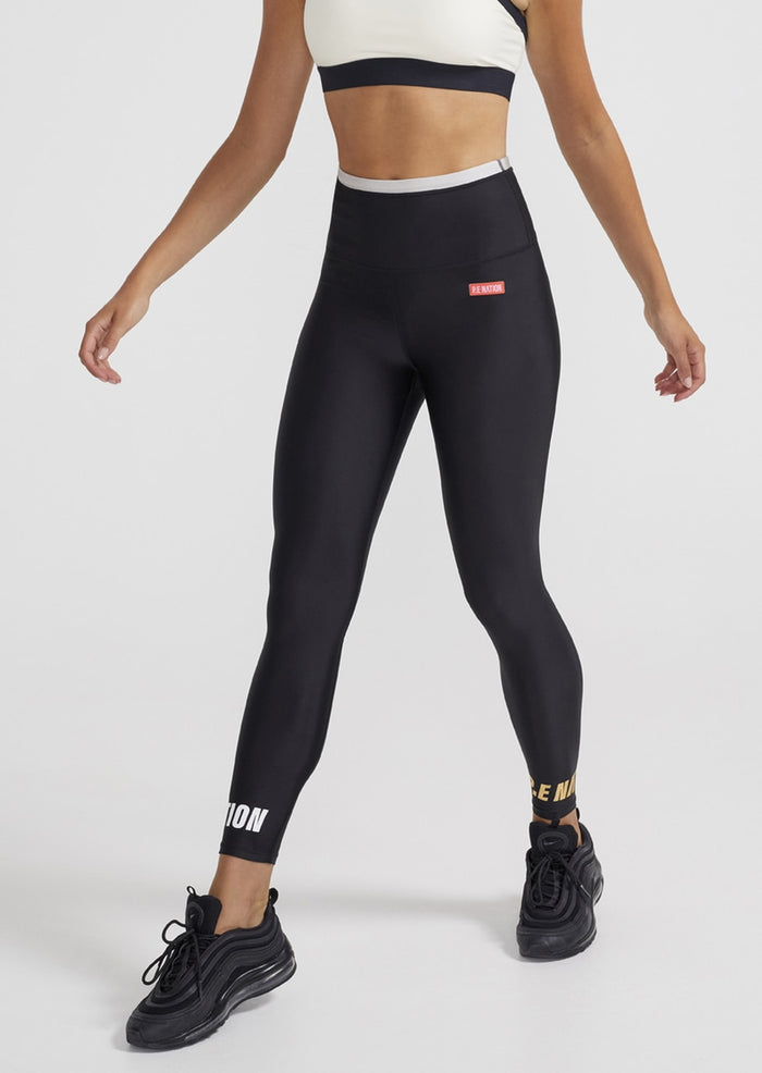 BLUELINER legging black, pe nation, Mika and Max