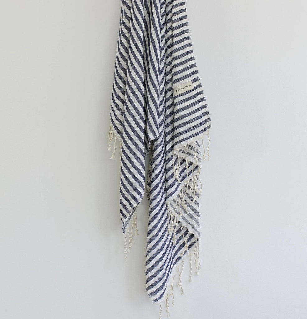 California Turkish towel - Navy