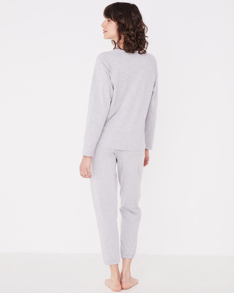 Kin Fleece Trackpant Grey