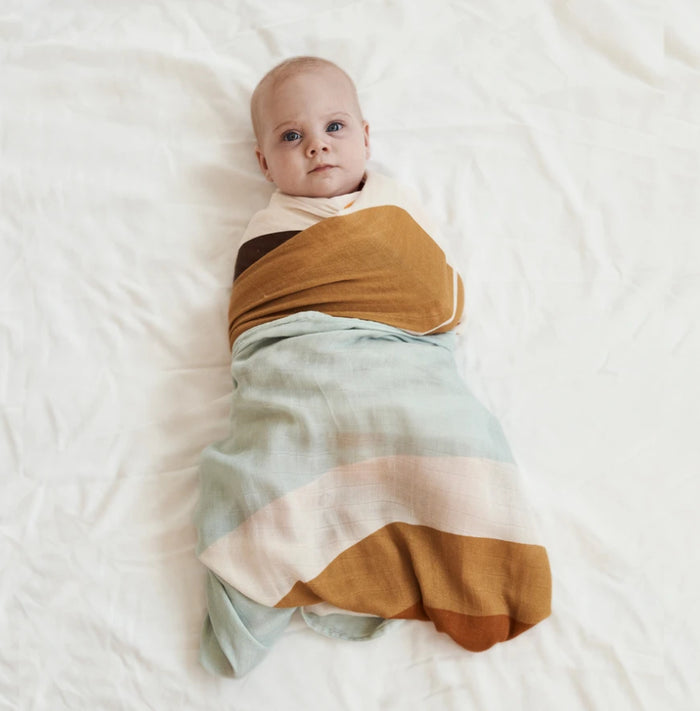 Sunshine State Bamboo / Organic Cotton Swaddle