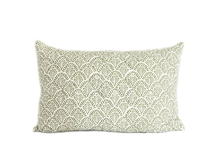 Sage Devi Kantha Pillow Cover