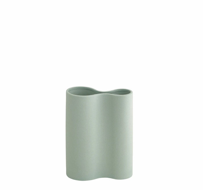 SMOOTH INFINITY VASE - BLUE (S)