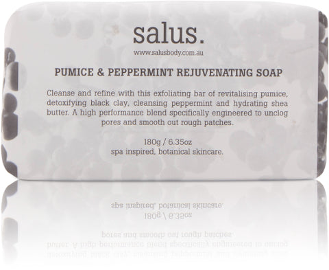 PUMICE & PEPPERMINT REJUVENATING SOAP, Soap, Salus - Mika and Max