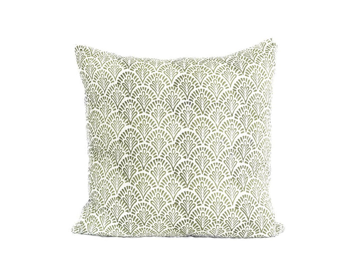 Sage Devi Kantha Euro Cover, Pillow cover, Garzie and May - Mika and Max