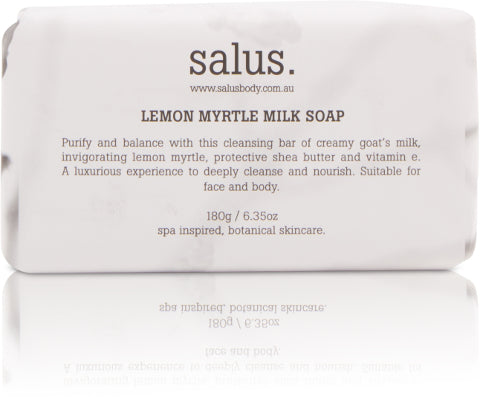 LEMON MYRTLE  MILK SOAP, Soap, Salus - Mika and Max