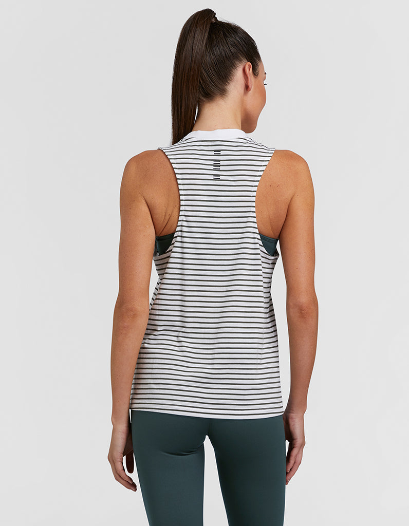 Striped Classic Sprint Tank, Tees, Jaggad - Mika and Max