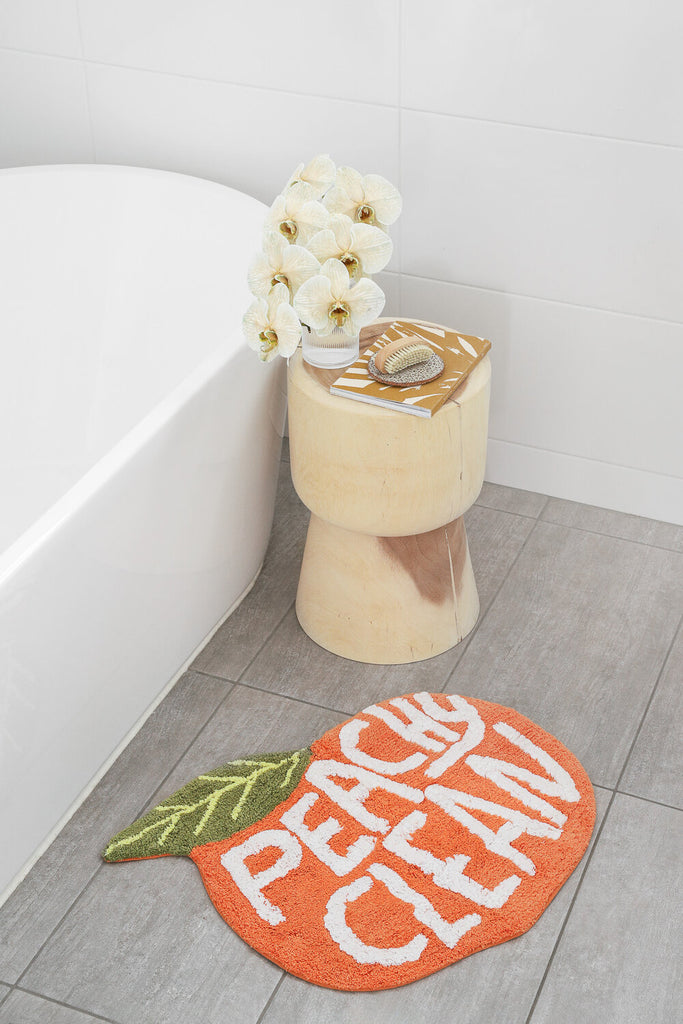 PEACH BATH MAT - PEACHY CLEAN