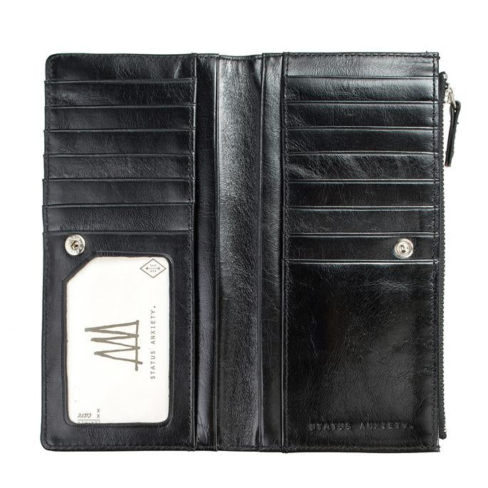 Dakota Wallet Black, Wallet, Status Anxiety - Mika and Max