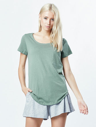 Tall tee khaki, tee shirts, casa amuk, pima cotton