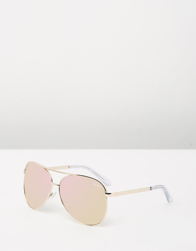 Vivienne Gold/Rose, Sunglasses, Quay - Mika and Max