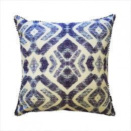 Tropic Tribe Blue Cushion 50 x 50cm, Cushion, Our Lieu - Mika and Max