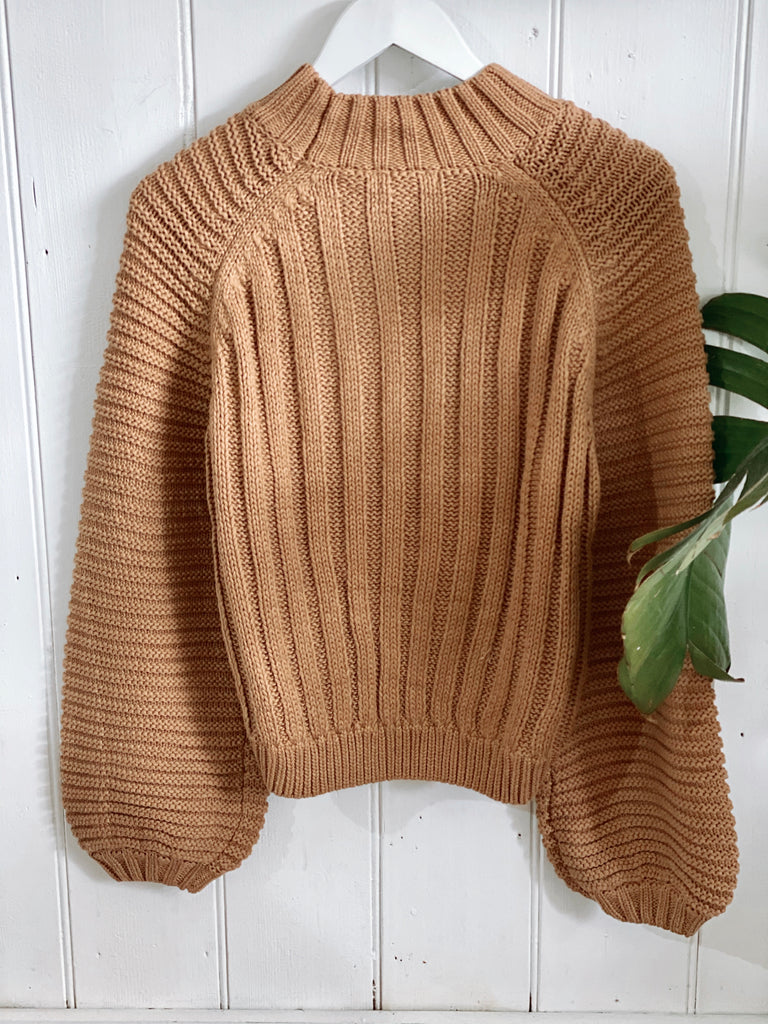 Belle Knit Tan