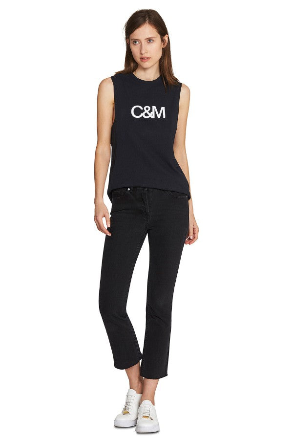 C&M logo tank, Camilla and Marc