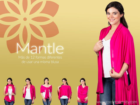 MANTLE. Poncho de lactancia