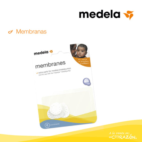 Membranas paquete 6 Pzs -UP