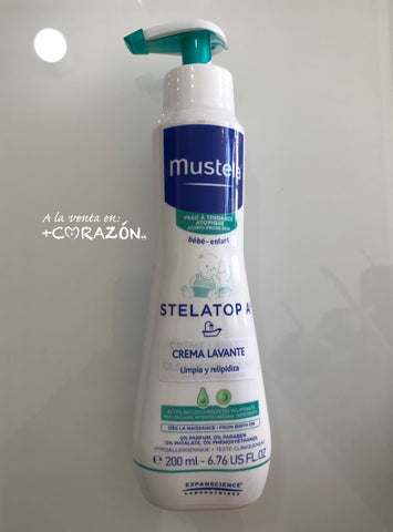 Mustela stelatopia crema lavante 200ml