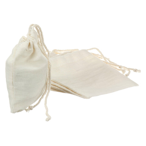 Reusable Cotton Tea Bag - Smaller (pack of 5)