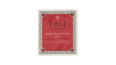 Ginger Peach Oolong - Overwrap Silky Single Sachets - NEW!