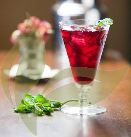 Hibiscus Mint ICED TEA LB