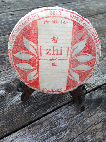 Pu-erh Raw (Sheng) Limited, Numbered Zhi Private Label