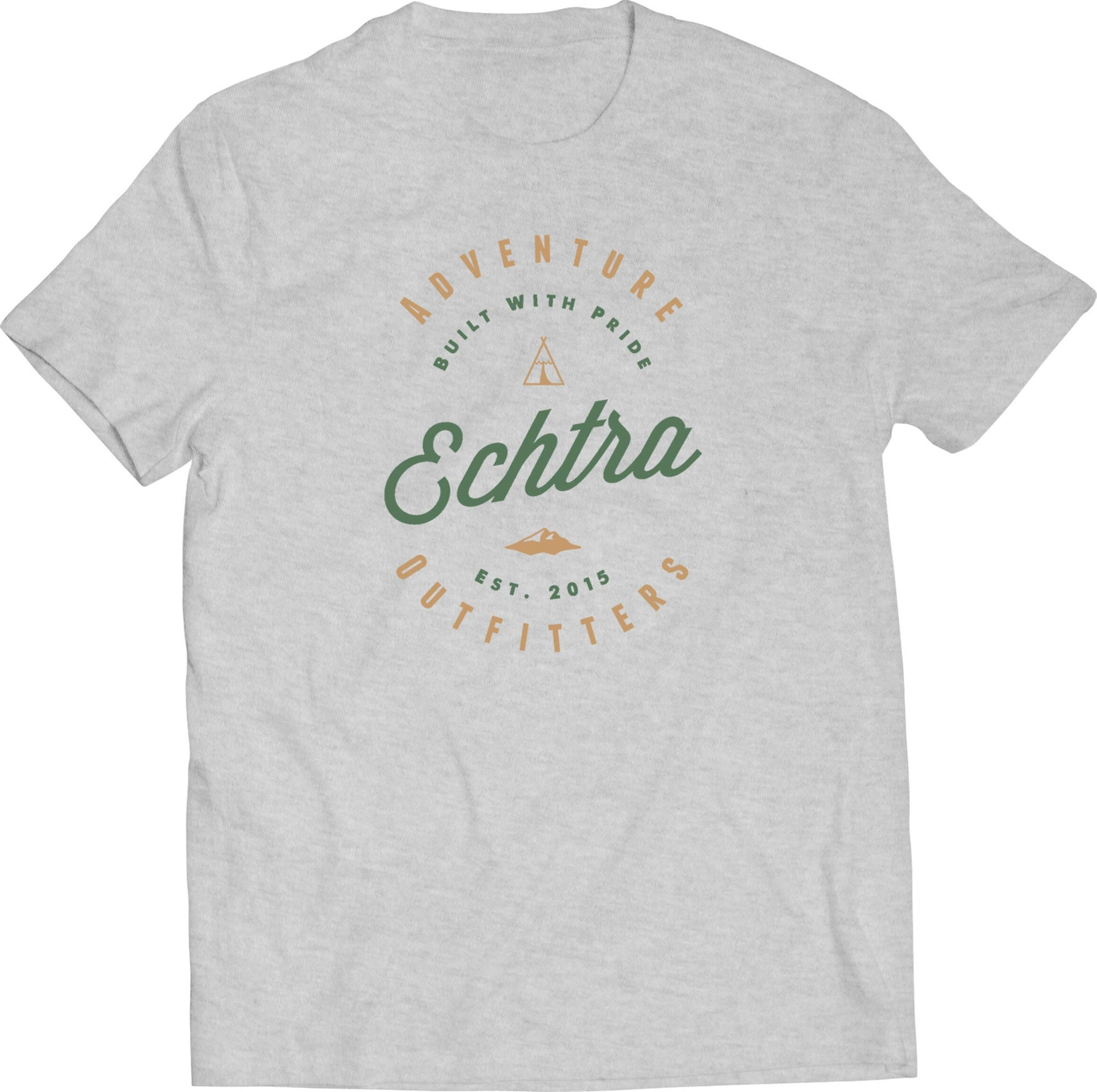 echtra outfitters built with pride tee