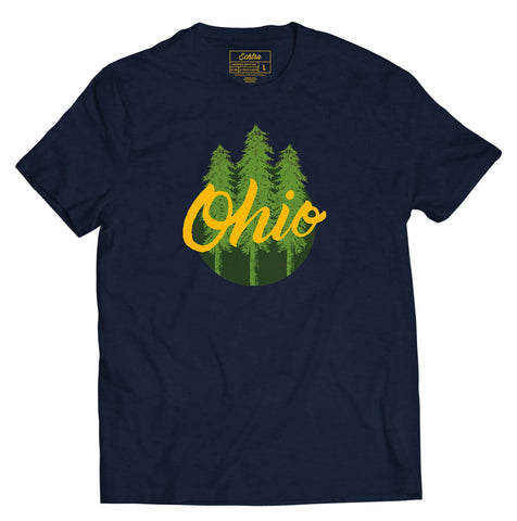 Ohio Trees Tee- Ohio Explored Collaboration - Echtra Outfitters