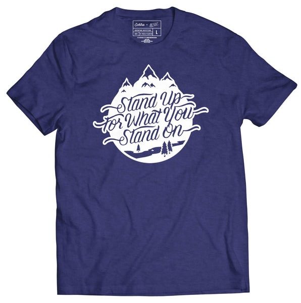 Stand Up For What You Stand On Tee - Echtra Outfitters  - 1