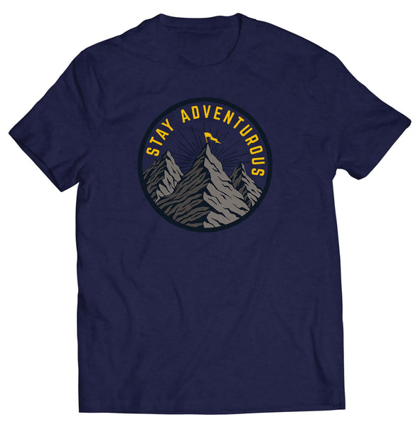 Stay Adventurous Tee - Echtra Outfitters  - 1