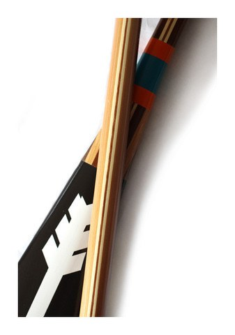 Artisan Painted Paddle- North - Echtra Outfitters  - 3