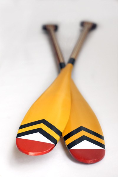 Artisan Painted Paddle- Dalles des Morts - Echtra Outfitters  - 6