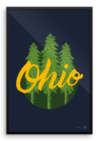 Ohio Trees Poster - Echtra Outfitters