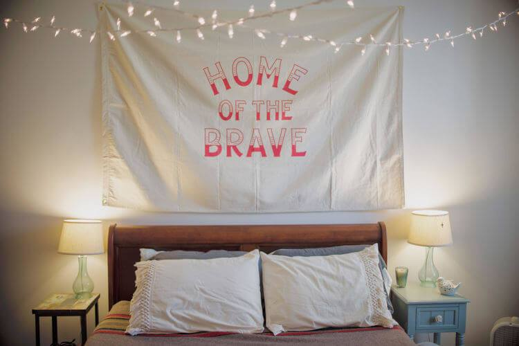 Home Of The Brave Flag - Echtra Outfitters  - 1