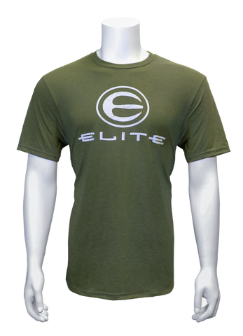 Elite Logo Military Green Tee