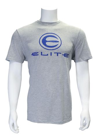 Elite Logo Heather Grey Tee