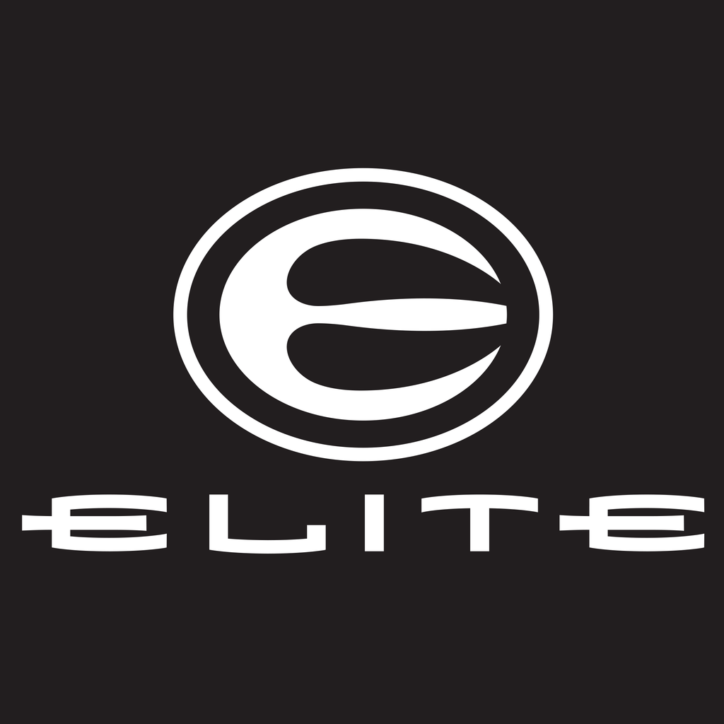Elite Archery White Vinyl Decal