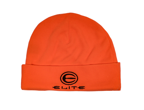 Blaze Orange Elite Knit Beanie