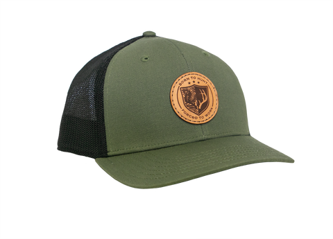 Born To Hunt Forced To Work Hat