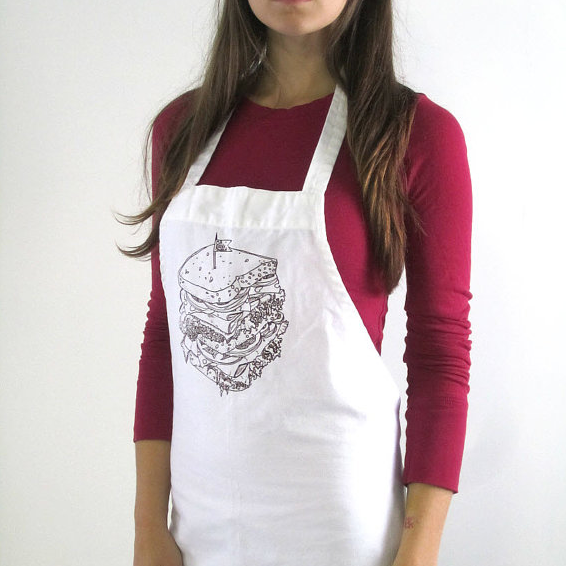 Oh, Little Rabbit Sandwich Apron