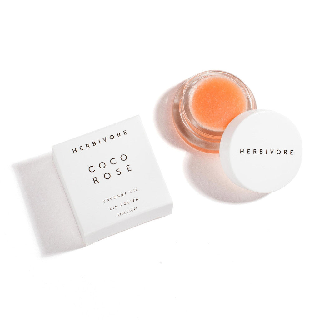 Herbivore Botanicals Coco Rose Lip Polish | LURKshop