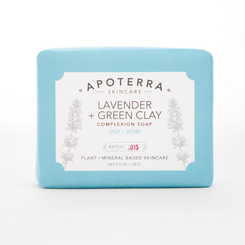 Lavender and Green Clay Complexion Soap