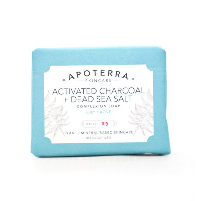 Activated Charcoal and Dead Sea Salt Complexion Soap