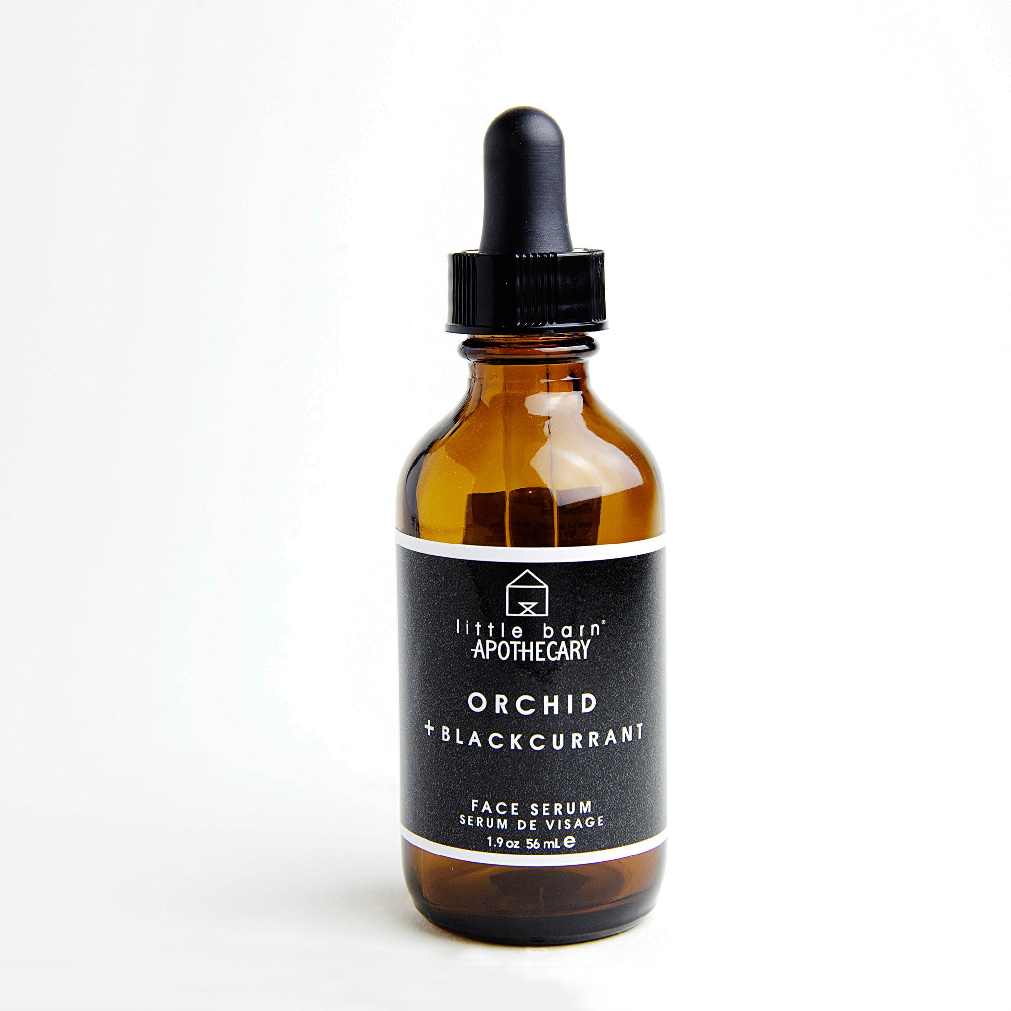 Orchid + Black Currant Face Serum by Little Barn Apothecary
