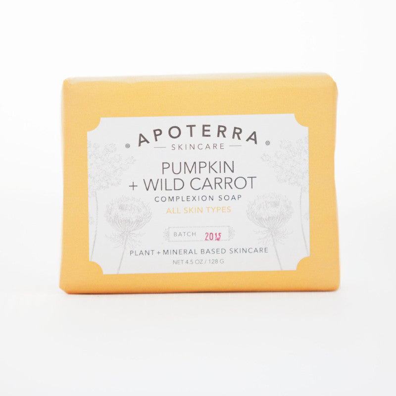 Pumpkin and Wild Carrot Complexion Soap