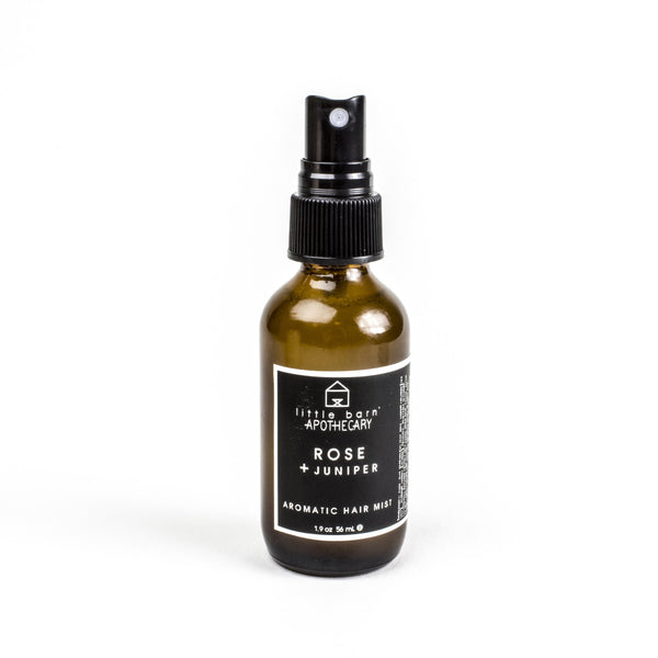 Rose + Juniper Hair Mist by Little Barn Apothecary