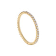 skinny pavé eternity band